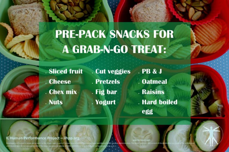 Nutrition- snack pack ideas for upload