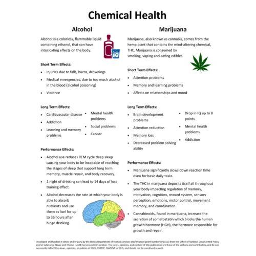 Chemical Health Substances Handout